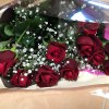 妻の誕生日にバラの花束をプレゼント。贈る幸せを実感。 #519