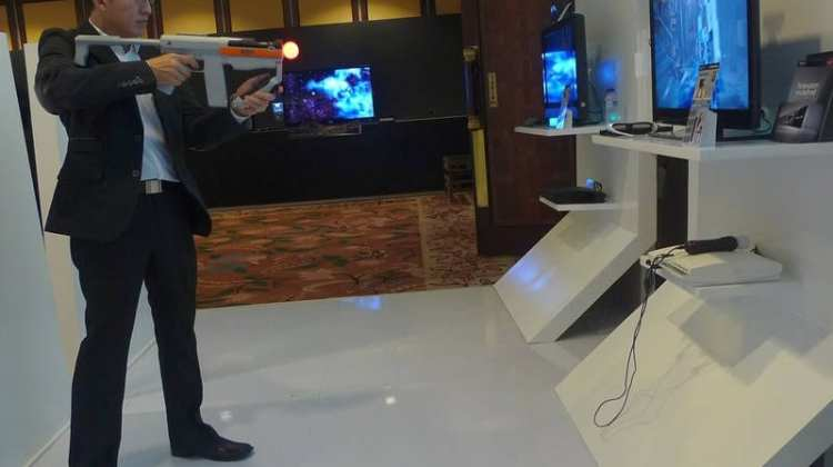 playstation 3D with move
