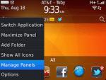 Manage Panel Blackberry OS7_1