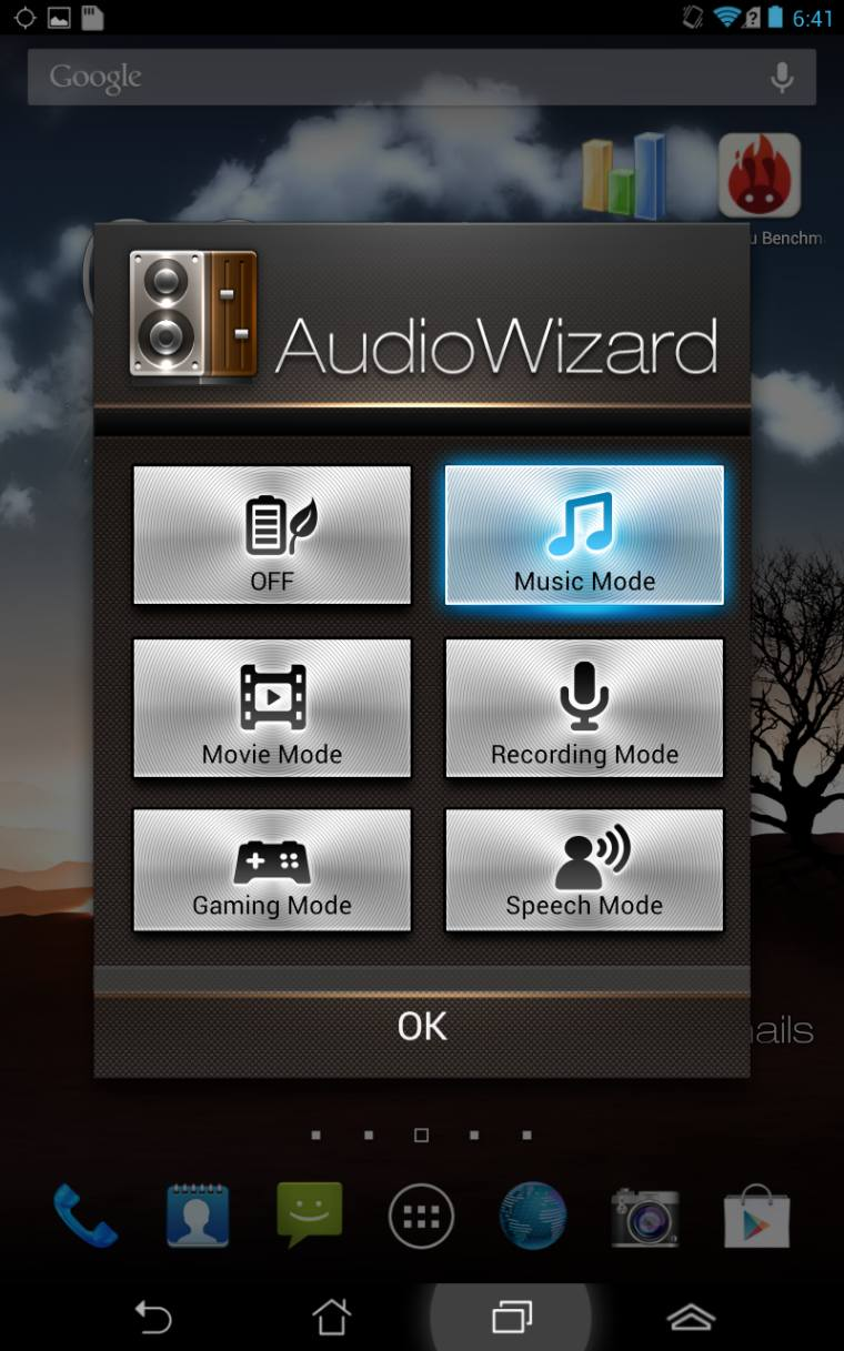 audio wizard Review <b>Asus Fonepad</b> tablet pc review komputer