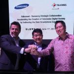 Kerjasama Telkomsel dan Samsung untuk Tingkatkan Penetrasi Smartphone di Indonesia