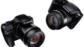 canon Powershot SX520 HS dan SX400 IS