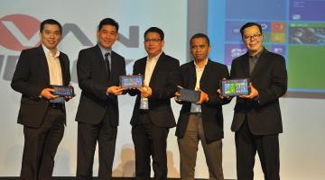 Peluncuran Tablet Advan W80 & W100 Windows 8.1