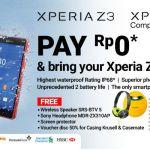 Sony Resmikan Kehadiran 3 Anggota Keluarga Xperia Z3 di Indonesia