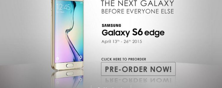 samsung galaxy S6EDGE promo