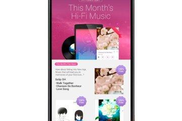 Hi-Fi Music Service on LG SmartWorld