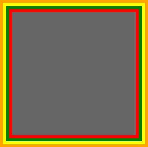 重温CSS:Border属性 - solid green border