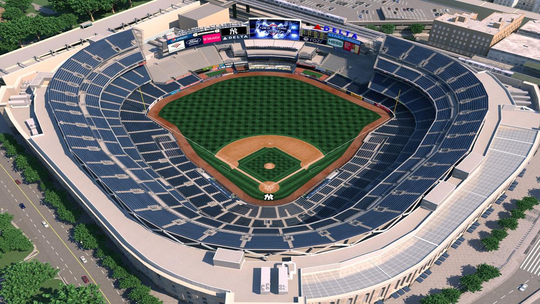 3d Wallpaper Cowboys New York Yankees Virtual Venue By Iomedia