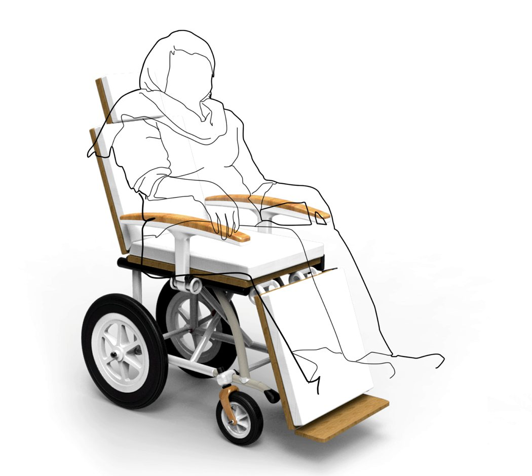 Bed Wheelchair Hybrid Bed Wheelchair For Paralyzed Individuals