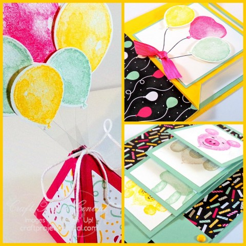 #imbringingbirthdaysback Fancy Fold Cards & Treat Box  SP
