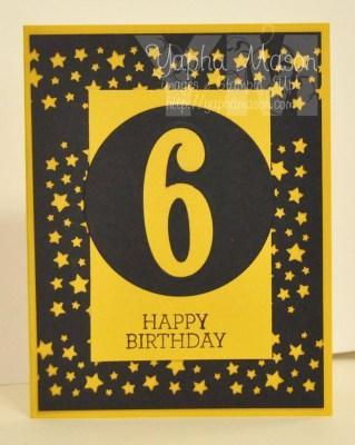 Sixth Birthday by Yapha
