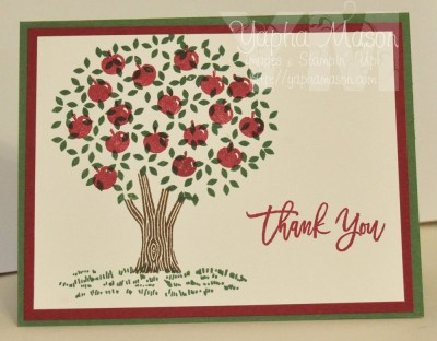 Apple Tree Thank You by Yapha