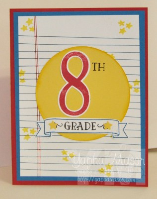 8th grade card by Yapha