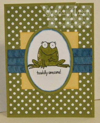 Toadally Awesome by Yapha