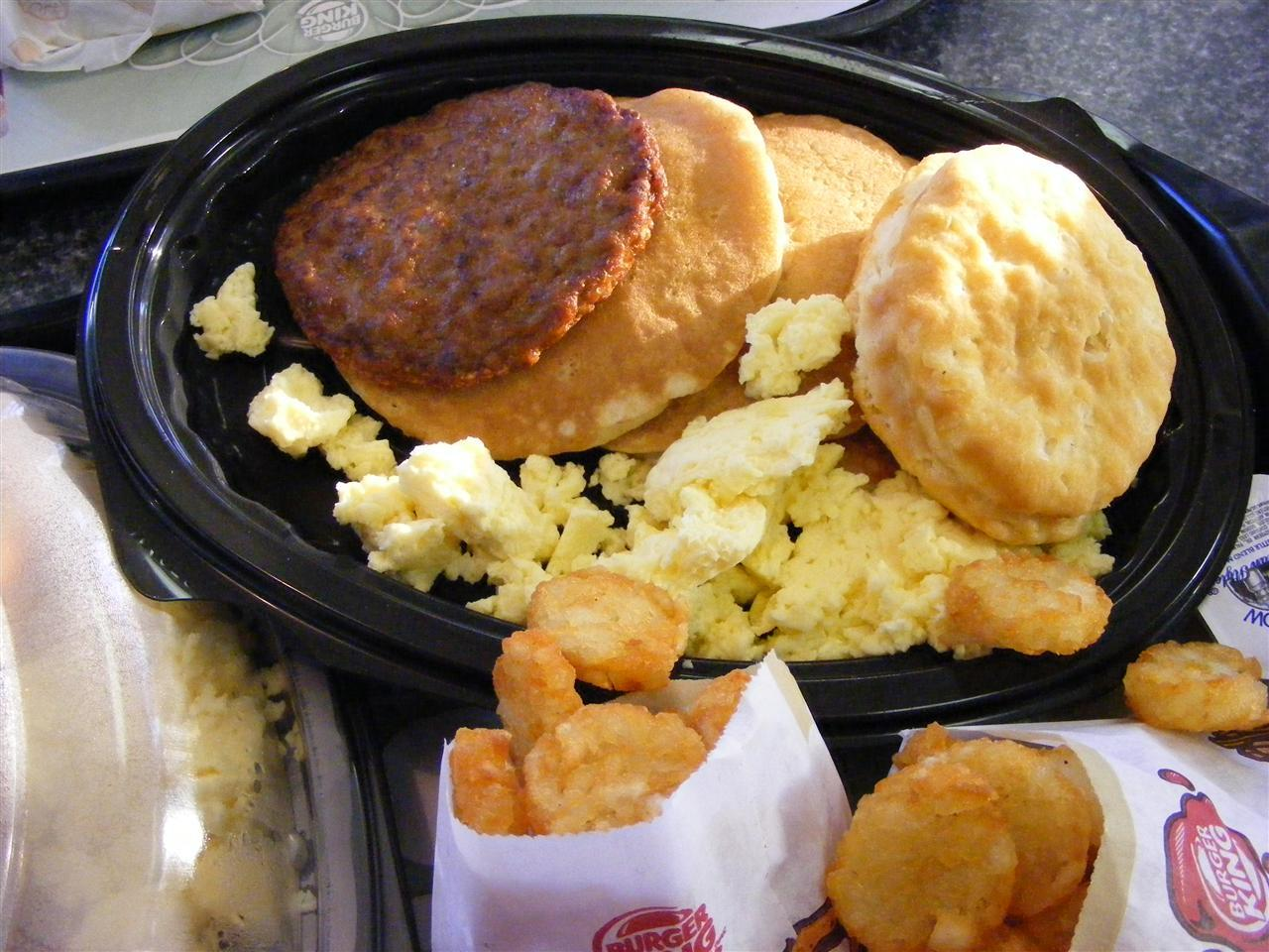 Burger King Drive Thru Breakfast The Most Unhealthy Breakfasts From Across The Country