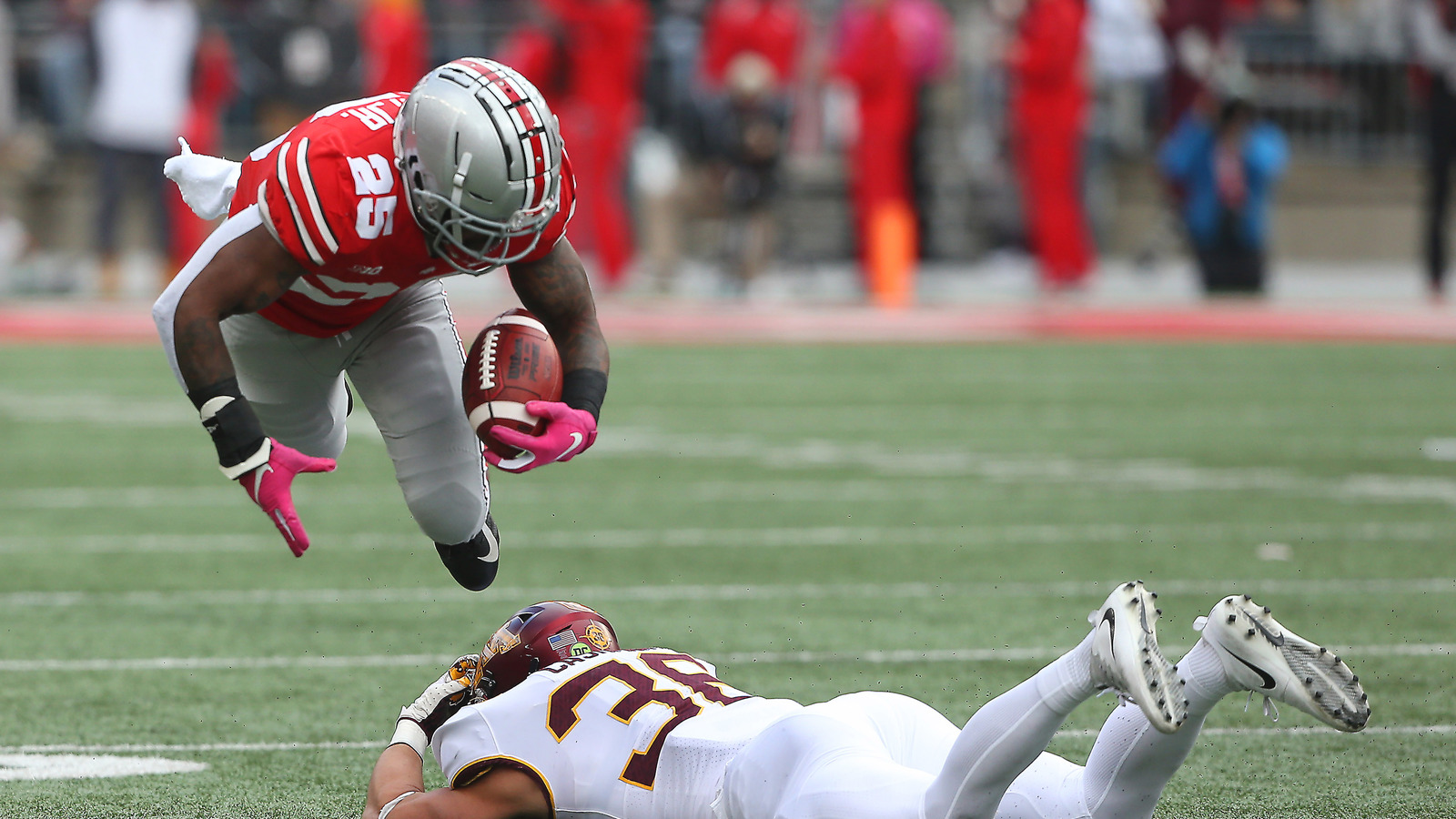 Ohio State Score Watch Ohio State Takes Advantage Of Fortunate Spot To Score