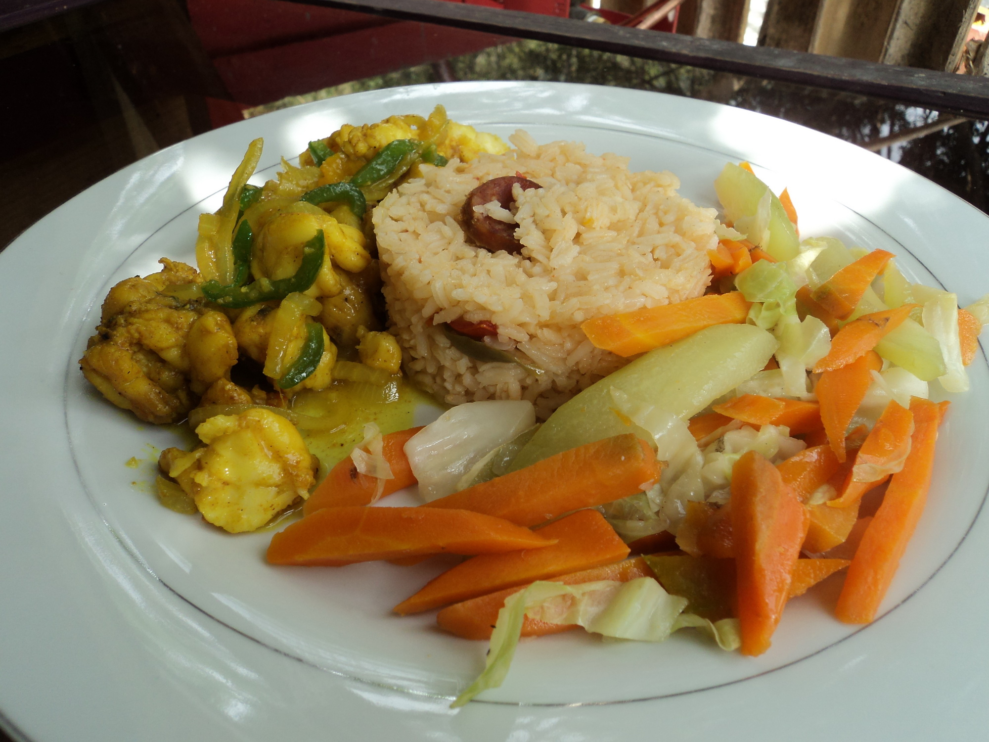 Jamaican Cuisine Cafe Mount Edge Guest House Eits Cafe And Food Basket Farm
