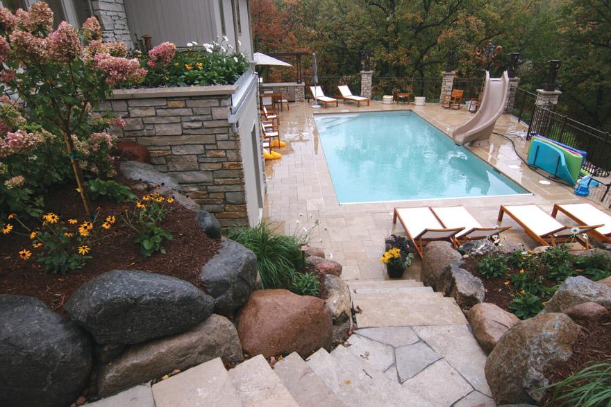 Pool Spa Design Minnesota Yardscapes