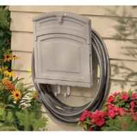 Garden Hose Container Garden Hose Storage Pot With Lid ...