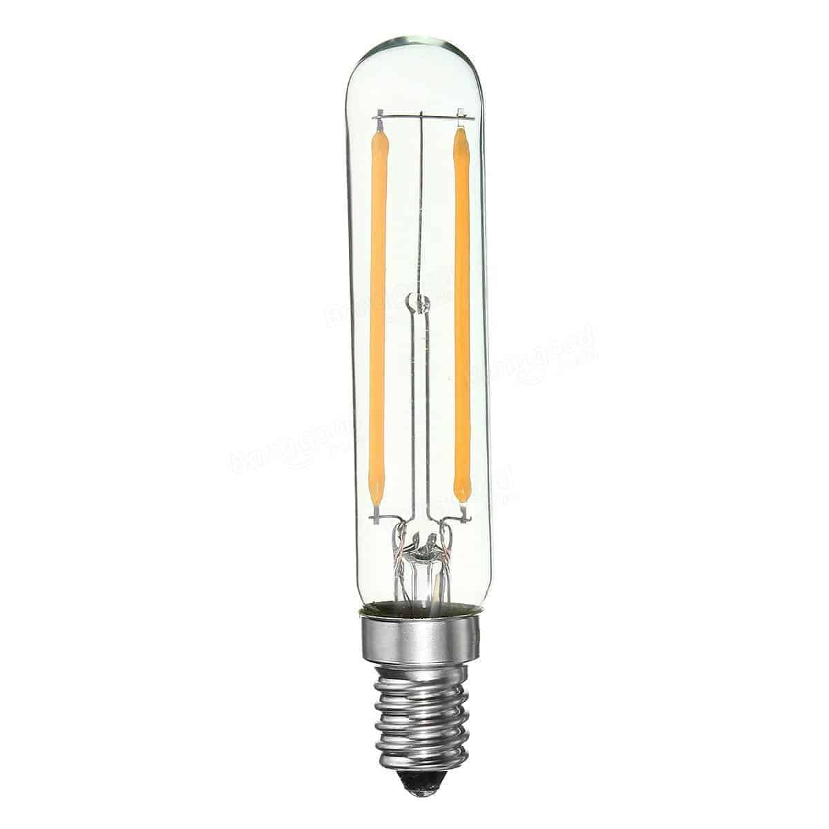 Dimbaar Led Verlichting E14 Led Buislamp Filament 2w Vervangt 20w Dimbaar T20