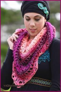 Crochet Tutorial: Summer Shawl  YARNutopia by Nadia Fuad