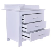 Infant Baby Changing Table Nursery Diaper Station Dresser