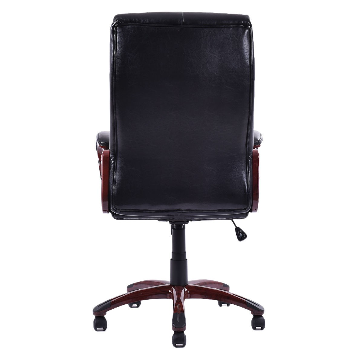 Best Task Chair 2015 Black Best Ergonomic Pu Leather High Back Executive Desk