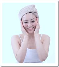 炭酸水で洗顔