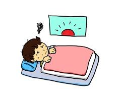 睡眠の質の悪化
