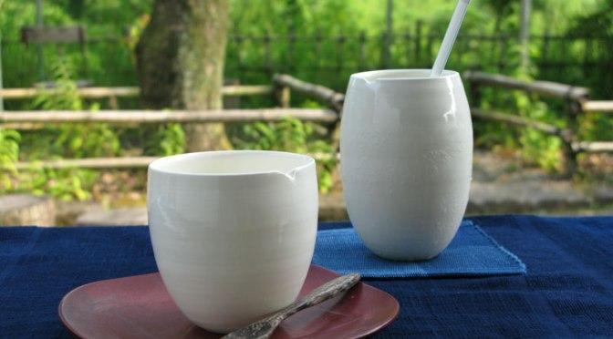 白さつま珈琲碗&ビアカップ