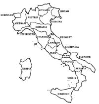 Carta Italia Da Colorare Cartina Fisica Italia Da Stampare E