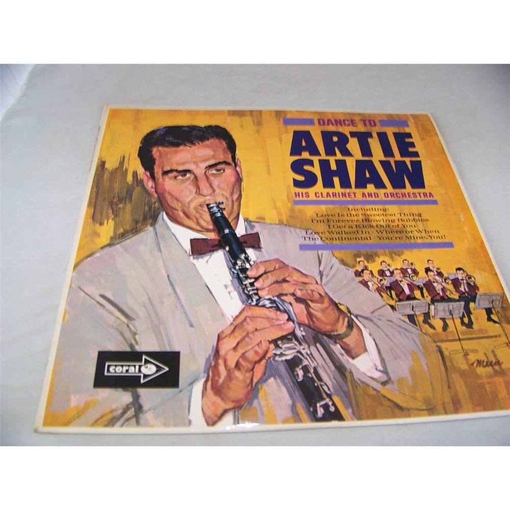 Artie Shaw Genre Dance To Artie Shaw His Clarinet And Orhestra Cp 2595 Oxfam Gb Oxfam S Online Shop