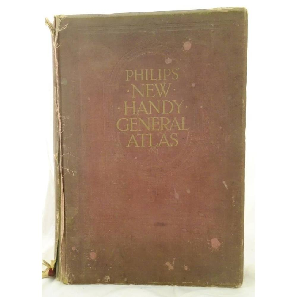 Philipps Online Shop Philips New Handy General Atlas Gazetteer Oxfam Gb Oxfam S Online Shop
