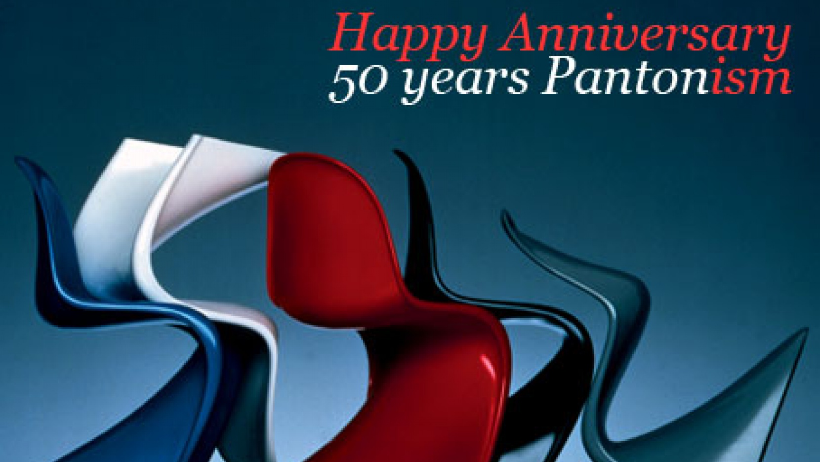 Vitra Chair Poster Panton Chair Turns 50 Yatzer