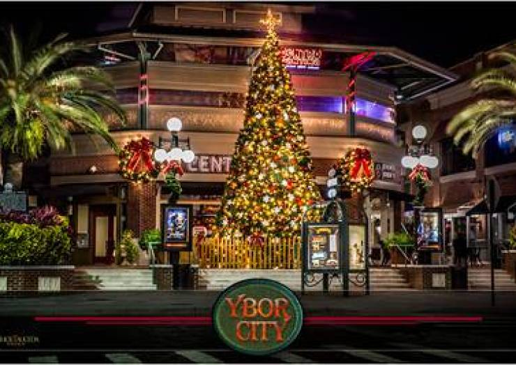Tree Lighting Ybor City Ybor City Online | News, Events, Things To Do And More