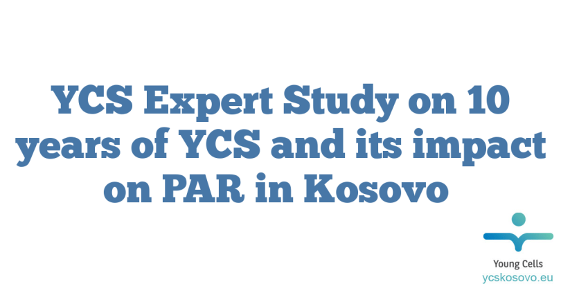 YCS Expert Study on 10 years of YCS and its impact on PAR in Kosovo