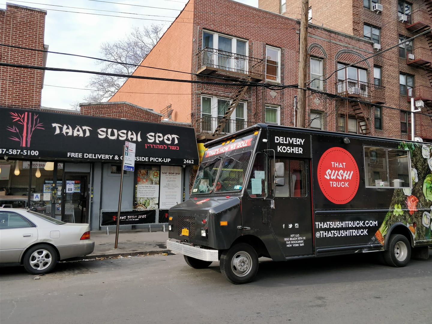 Japanese Cuisine Food Truck Kosher Sushi Food Truck Hits The Streets Of Nyc That