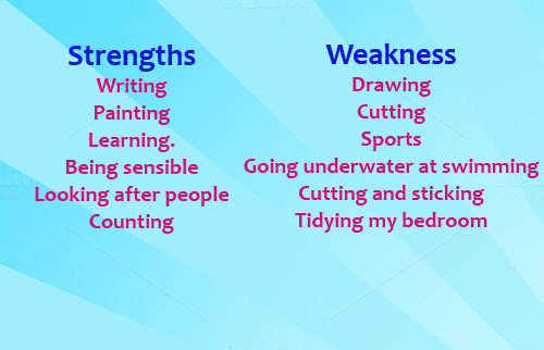 Strengths and weaknesses Puffins Blog