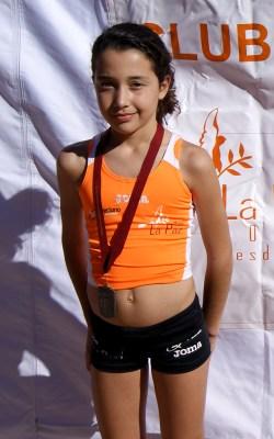 Carmen Martínez conquistó la plata