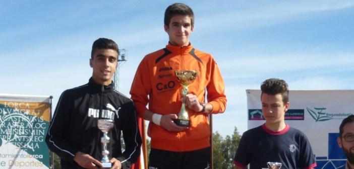 Ortuño, en lo más alto del podio en Lorca / ADA Yeclano