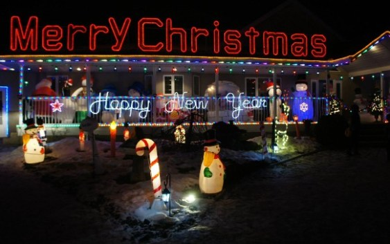 Leduc Country Lights Christmas House