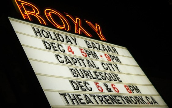 Holiday Bazaar at Roxy Theatre