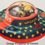 UFO tin toy property William C. Gallagher