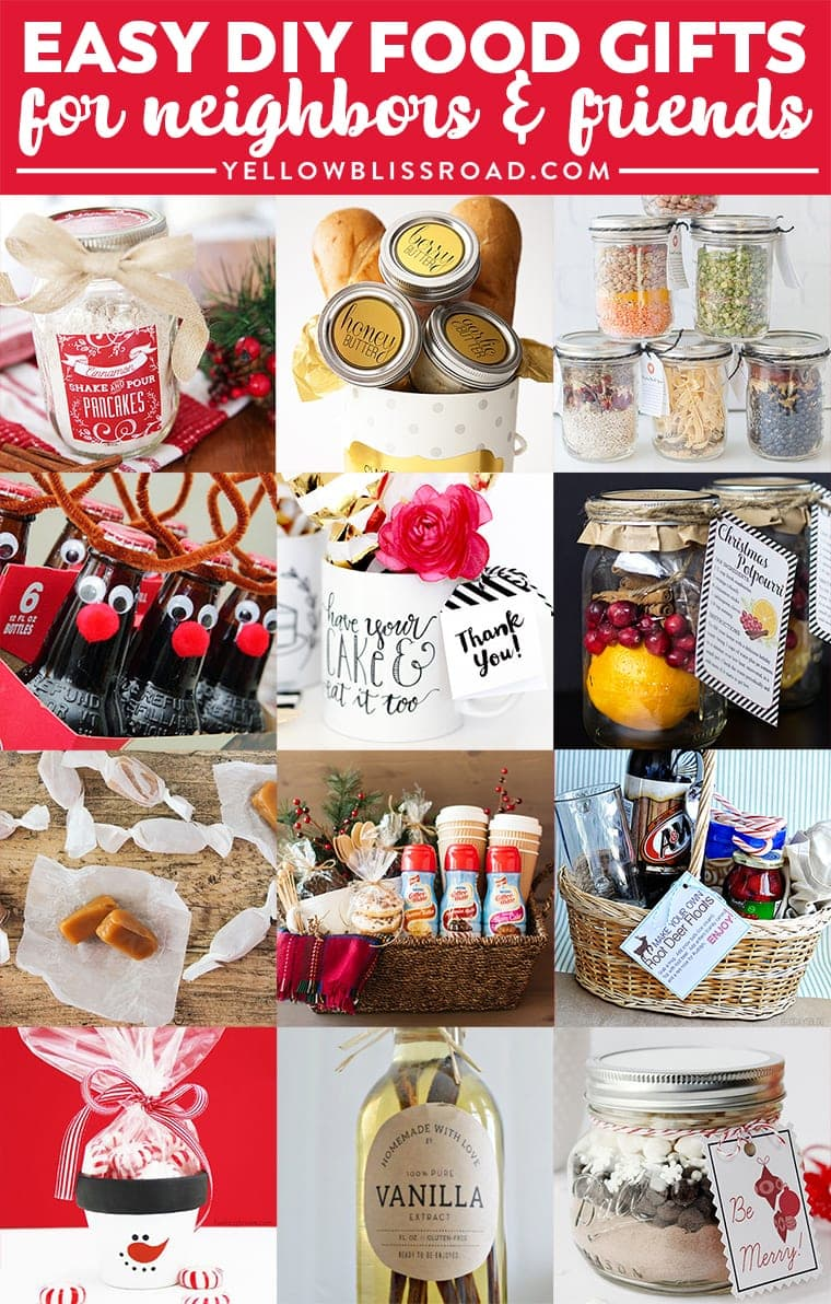 Christmas Homemade Gifts Budget Gifts Ideas For Friends And Neighbors Homemade Christmas