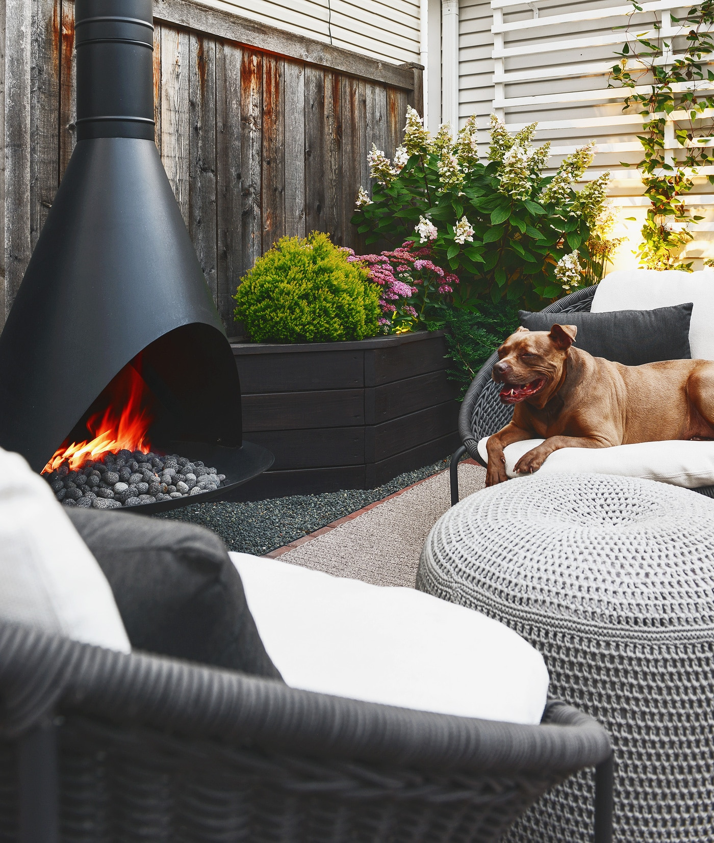 Cost To Convert Wood Fireplace To Gas Our Outdoor Fireplace Farewell Propane Hello Natural Gas