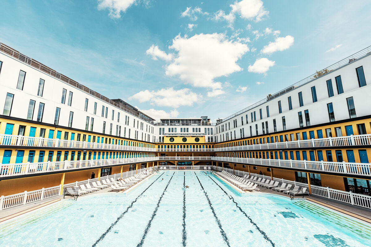 Hotel Molitor Piscine Photograph Molitor Swimming Pool Ludwig Favre Yellowkorner