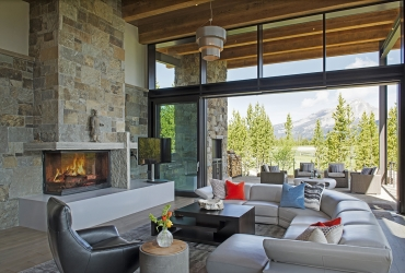Luxurious living with breathtaking mountain views.