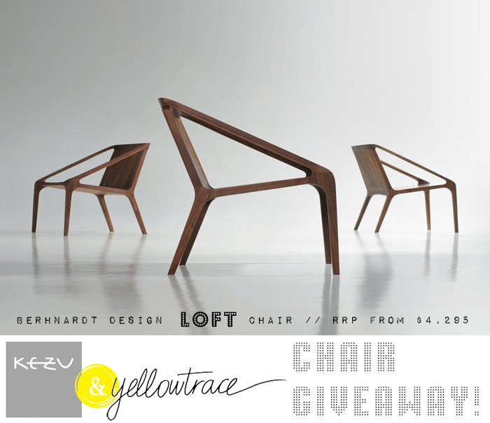 Yellowtrace Promotion // Bernhardt Design at KE-ZU + Super HOT Giveaway!