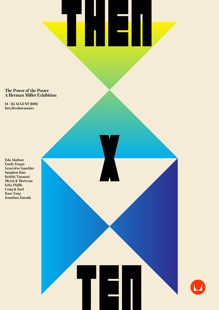 "Yellowtrace Promotion // Herman Miller ""Then x Ten"" Exhibition & Design Competition."
