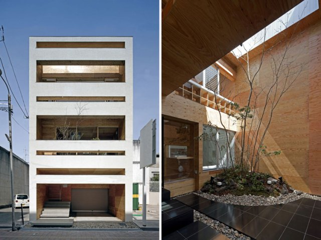 Machi Building, Hiroshima, Japan // UID Architects.